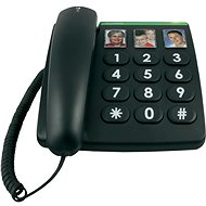 Doro PhoneEasy 331ph černá - Tisch-Telefon