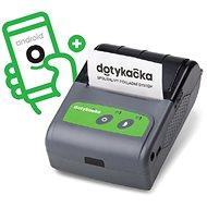 Dotykačka Kapesní + EET aplikace bez paušálu - Pokladní tiskárna