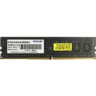 Patriot 4GB DDR4 2400Mhz CL17 Signature Line (8x512) - Operační paměť