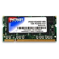 Patriot SO-DIMM 1GB DDR 400MHz CL3 Signature Line