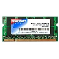 Patriot SO-DIMM 2 GB DDR2 800 MHz CL6 Signature Line - Operačná pamäť