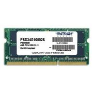 PATRIOT 4GB SO-DIMM DDR3 1600MHz CL11 Signature Line