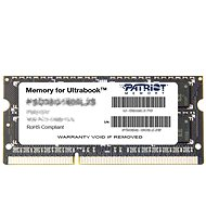 Patriot SO-DIMM DDR3 1600MHz CL11 8 GB Ultrabook-Linie