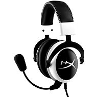 HyperX Cloud Gaming Headset White - Mikrofonos fej-/fülhallgató