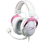 HyperX Cloud II Headset weiß-rosa