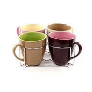 Bergner 5 pcs set of cups and stand BG-1805004