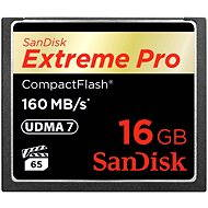 SanDisk Compact Flash Extreme Pro 16 GB 1000x