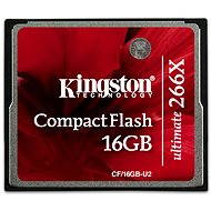 Kingston Compact Flash 16GB 266x Ultimate