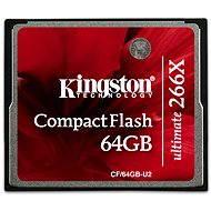 Kingston Compact Flash ultimative 266x 64 GB