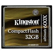 Kingston Compact Flash Ultimative 600x 32 GB