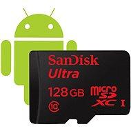 SanDisk Micro SDXC 128GB Ultra Class 10 + SD adaptér