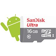 SanDisk Micro SDHC 16GB Ultra Android Class 10 UHS-I