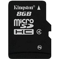 Kingston Micro SDHC 8GB Class 4 - Paměťová karta