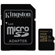 Kingston Micro SDHC 16GB Class 10 UHS-I + SD adapter
