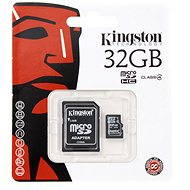 Kingston Micro SDHC 32GB Class 4 + SD Adapter