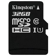 Kingston Micro SDHC 32GB Klasse 10 UHS-I