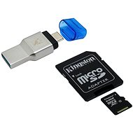 Kingston MobileLite Duo 3C + Kingston Micro SDXC 64GB Class 10 UHS-I + SD adaptér - Čtečka karet