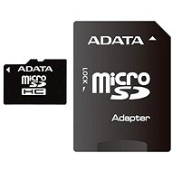 ADATA Micro SDHC 8GB Class 4 + SD Adapter