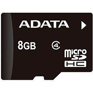 ADATA Micro 8GB SDHC Class 4 + OTG Micro Reader - Speicherkarte