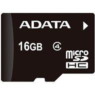 ADATA Micro SDHC 16GB Class 4 + OTG micro reader - Memory Card
