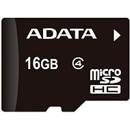 ADATA Micro SDHC 16GB Class 4 + OTG mikro čítačka