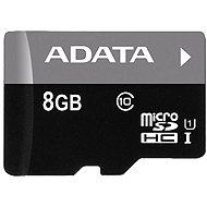 ADATA Micro SDHC 8GB Class 10 - Paměťová karta