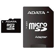 ADATA Micro SDHC 8GB Class 10 + adaptér