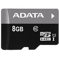 ADATA Micro 8GB SDHC UHS-I-Klasse 10 + OTG Reader - Speicherkarte