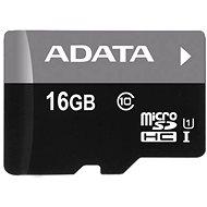 ADATA MicroSDHC 16 GB UHS-I Class 10 + OTG-Speicherkartenleser - Speicherkarte