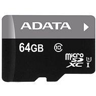 ADATA Micro SDXC 64 Gigabyte UHS-I-Klasse 10 + OTG Reader