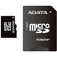 ADATA Micro SDHC 16 GB Class 4 + SD Adapter - Speicherkarte