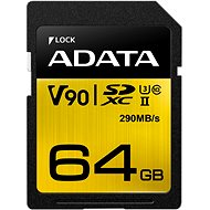 ADATA Premier ONE SDXC 64GB UHS-II U3 Class 10 - Paměťová karta