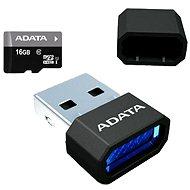 ADATA Premier MicroSDHC 16GB UHS-I + Micro Reader - Paměťová karta