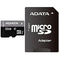 ADATA Premier Micro 32GB SDHC UHS-I SDHC + adapter - Memory Card