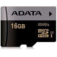 ADATA Premier Micro SDHC UHS-I 16 Gigabyte U3 Klasse 10