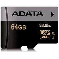 ADATA Premier Micro SDXC 64GB UHS-I U3 Class 10
