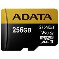 ADATA Premier ONE MicroSDXC 256GB USH-II U3 Class 10 - Paměťová karta