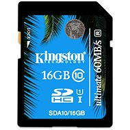 Kingston SDHC 16GB UHS-I Class 10 Ultimate - Speicherkarte