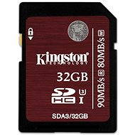 Kingston 32GB SDHC Class 10 UHS-I-U3 - Speicherkarte