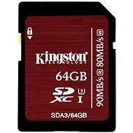 Kingston SDXC 64GB Class 3 UHS-I U3