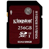 Kingston SDXC UHS-I 256 GB Speed ??Class 3