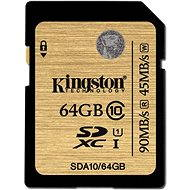 Kingston SDXC 64GB UHS-I Class 10 - Speicherkarte