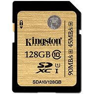 Kingston SDXC 128GB UHS-I Class 10 - Memory Card