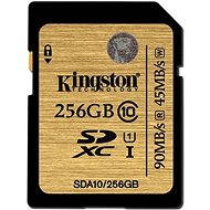 Kingston SDXC 256GB UHS-I Class 10 - Memory Card