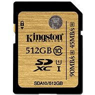 Kingston SDXC 512GB UHS-I Class 10