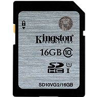 Kingston SDHC 16GB Class 10 UHS-I - Paměťová karta