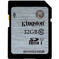 Kingston 32GB SDHC Class 10 UHS-I - Speicherkarte