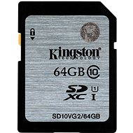 Kingston SDXC 64GB Class 10 UHS-I - Paměťová karta