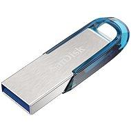 SanDisk Ultra Flair 128GB tropická modrá