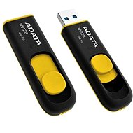 ADATA UV128 32GB schwarz-gelb - USB Stick